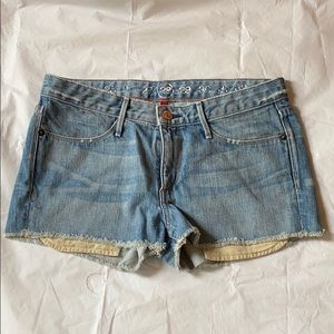 Earnest Sewn keaton cutoff denim shorts 28